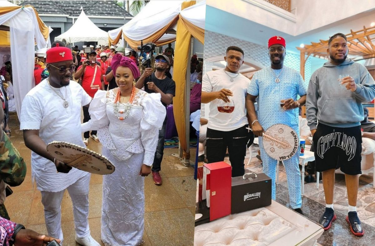 Pictures From Obi Cubana Mother's Burial — eNewsdesk